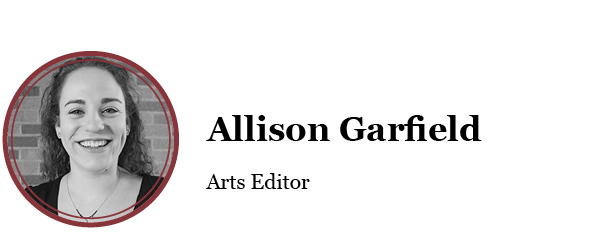Allison Garfield Box - arts editor